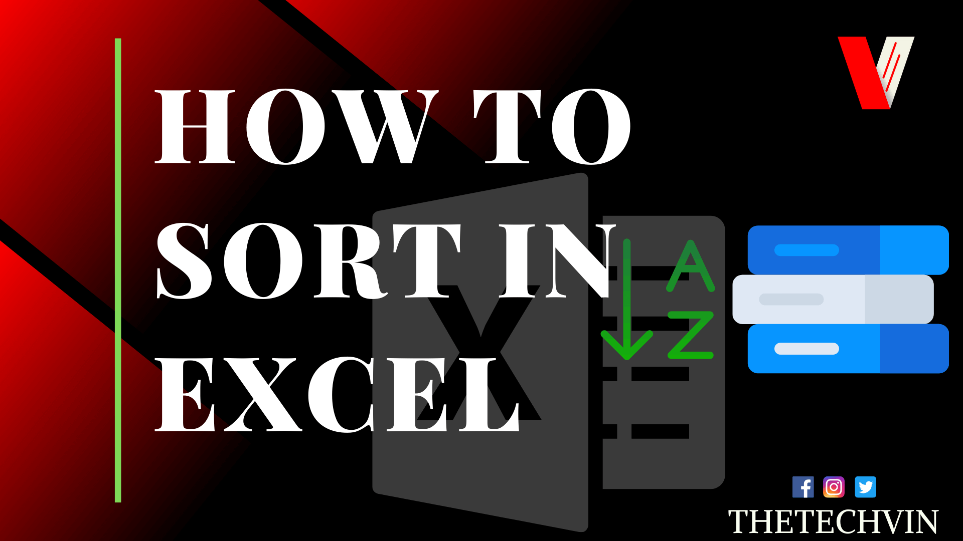 How to Sort in Excel