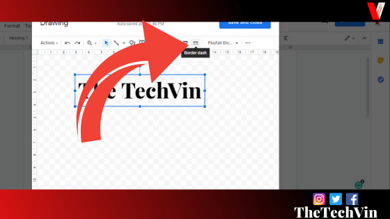 how to add a textbox in google docs