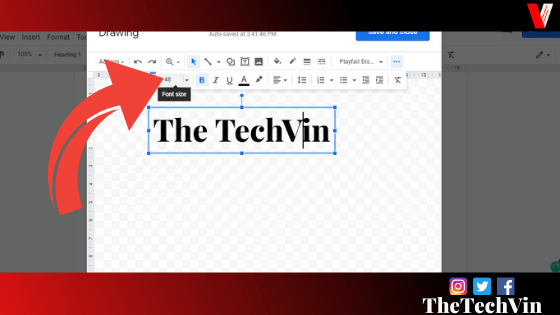 how to insert a textbox in google docs