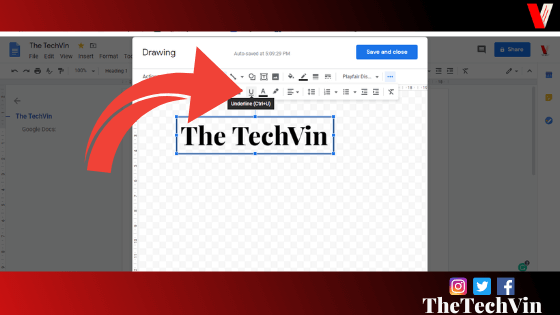 how to add shapes in google docs