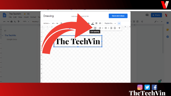how to make a text box in google docs