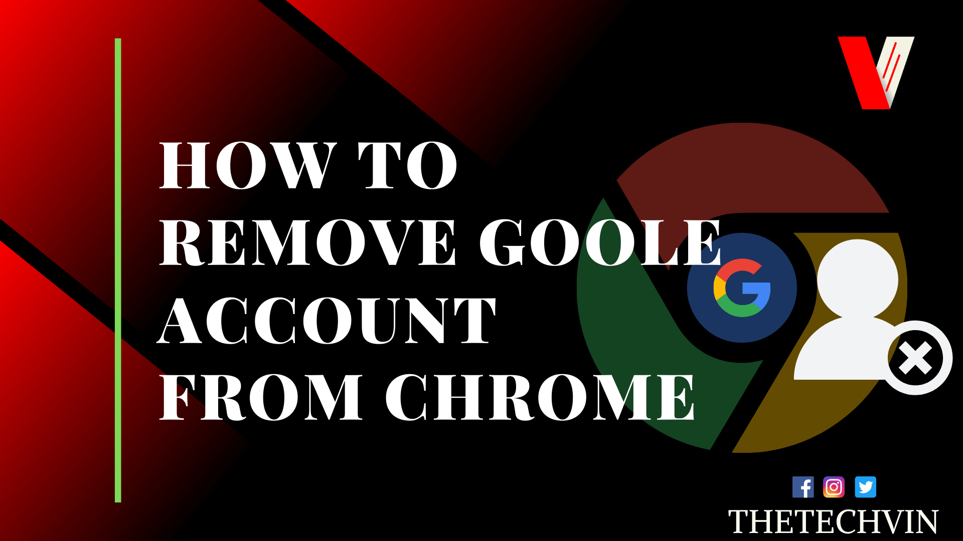 How to Remove Google Account From Chrome