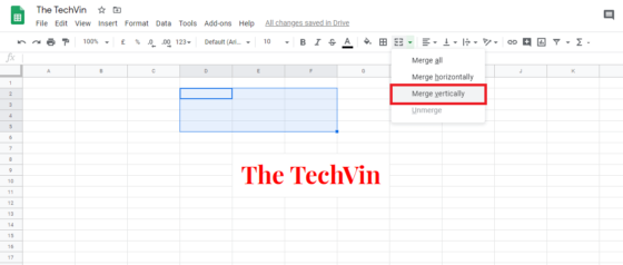 How to Merge Columns in Google Sheets