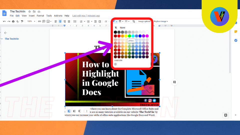 How to highlight multiple things in google docs