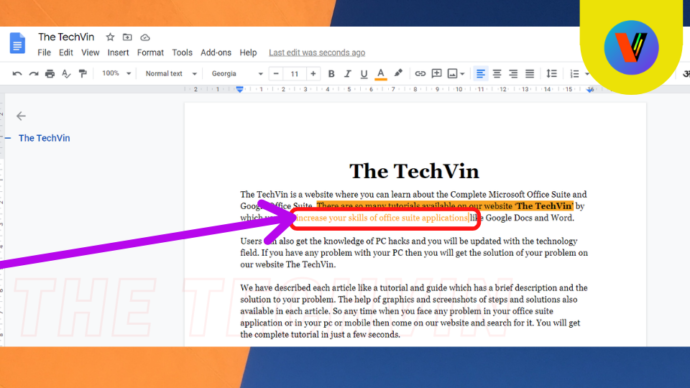 how to search for a word in google docs