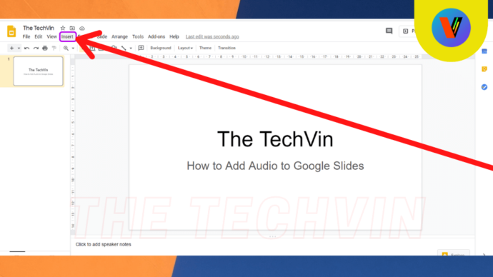 How to Insert Audio into Google Slides