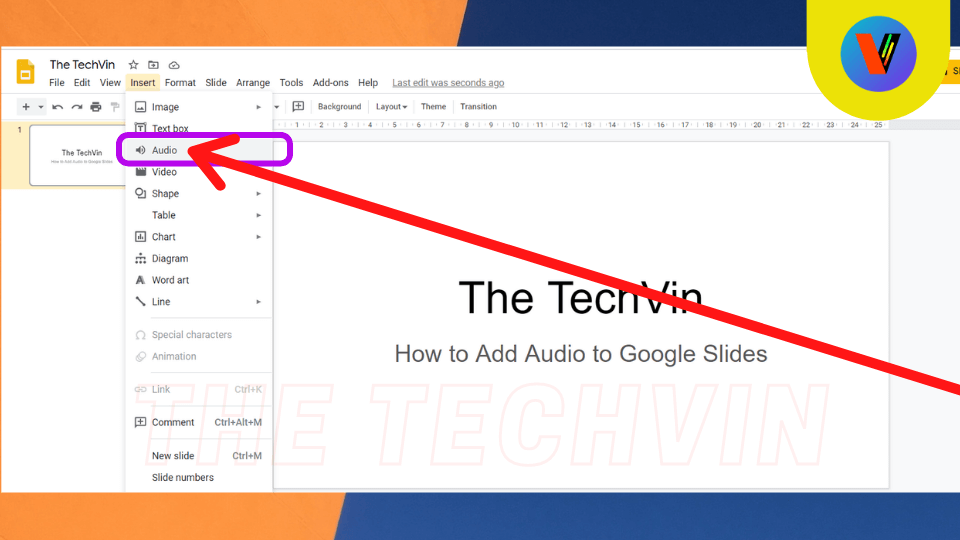 How to Put Audio in Google Slides